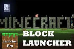 Скачать BlockLauncher Pro пользу кого Minecraft PE 0.1.0.8